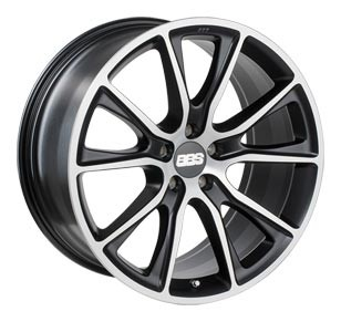 "BBS SV 10,0x20 ET46 5x112 20"" Wheel satin black/diamond-cut"