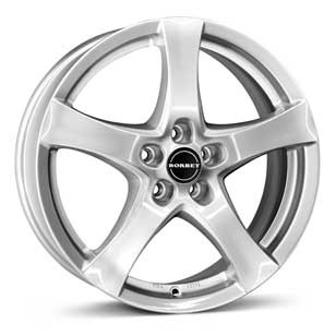 "Borbet F 8,0x18 ET45 5x120 18"" Wheel brilliant silver"