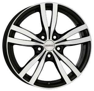"Dezent TC dark 6,5x16 ET50 5x108 16"" Wheel"