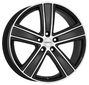 "Dezent TH dark 7,5x17 ET48 5x108 17"" Wheel"