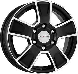 "Dezent Van dark 6,5x16 ET52 5x112 16"" Wheel"