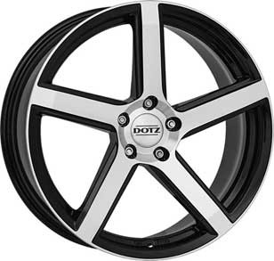 "Dotz CP5 dark 7,0x17 ET25 4x108 17"" Wheel"