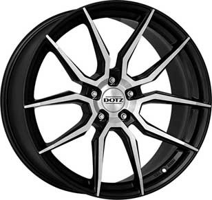 "Dotz Misano dark 8,5x20 ET45 5x114,3 20"" Wheel"