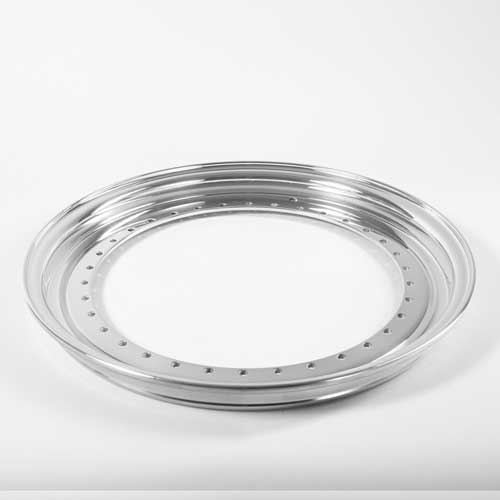 BBS Outer Lip 1.0x17 Aluminium 34-holes wheel half