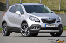 Opel Mokka with Barracuda Tzunamee