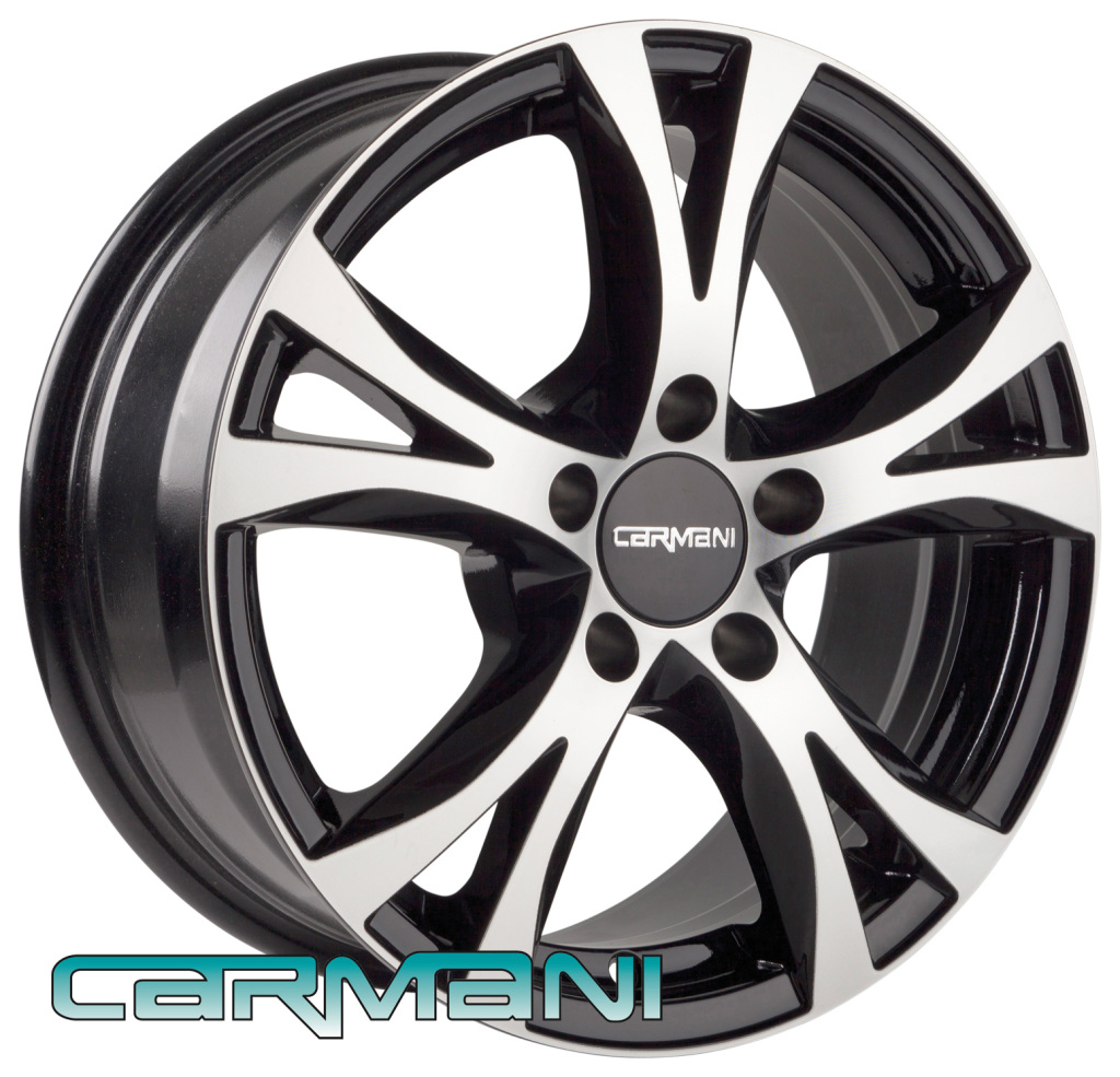 Carmani 9 Compete black polished