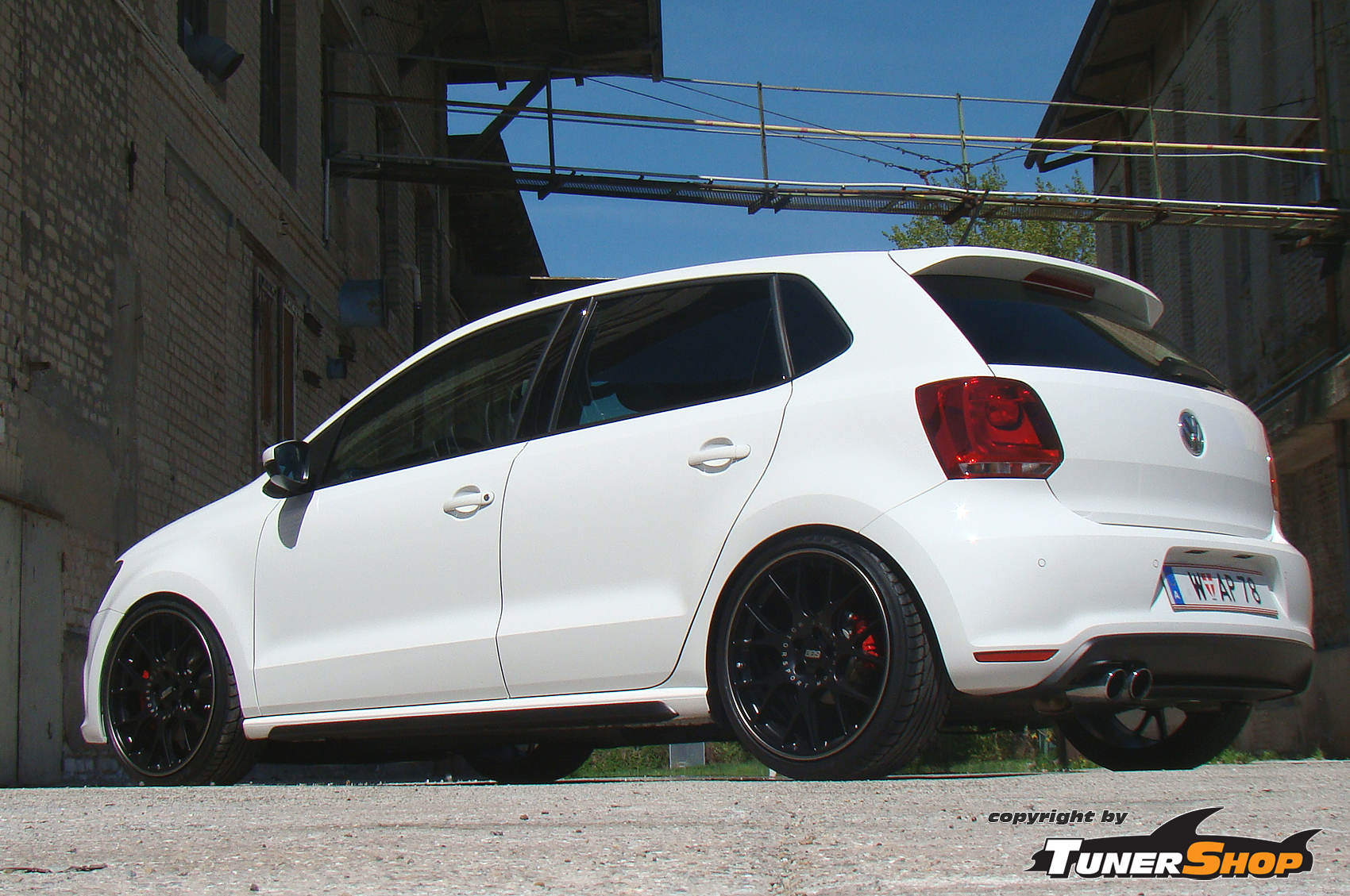 VW polo vw : Black BBS CH wheels for Volkswagen VW Polo | TUNERSHOP