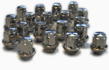 Wheel lug nuts for Ford stock OEM Alloy and Steelwheels M12x1,5 tapered seat