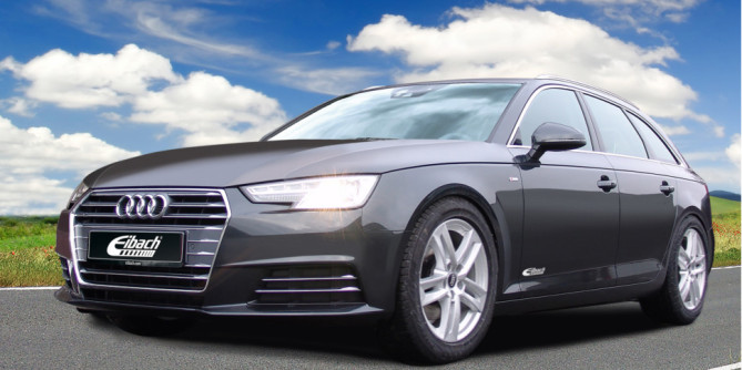 Eibach lowering springs for Audi A4