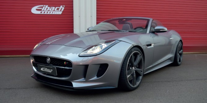 Eibach Pro Kit Springs and Spacers for Jaguar F-Type
