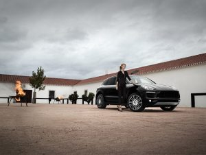 Porsche Macan with AEZ Strike Wheels