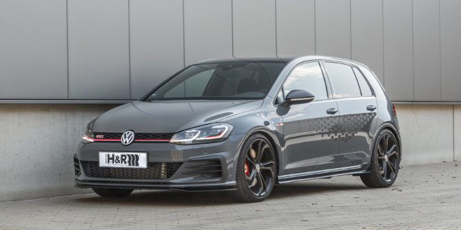 H&R suspension upgrade for the Golf TCR