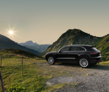 AEZ Panama wheels on the Porsche Cayenne