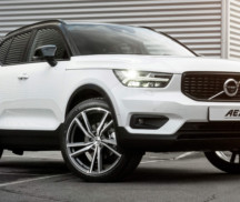 Volvo XC40 with AEZ North rims