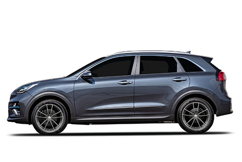 Borbet FF1 rims for the Kia Niro