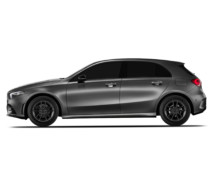 Mercedes A-Class with Borbet W rims