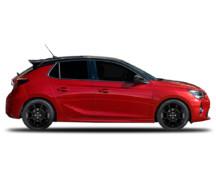 Borbet LV4 wheels and Opel Corsa U