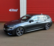 BMW 3er Touring with Eibach Sportline springs