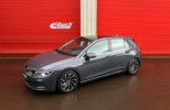 VW Golf 8 with Eibach springs and spacers