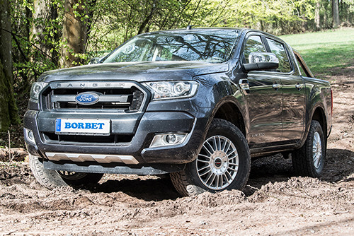 Borbet CW3 for the Ford Ranger