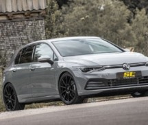 ST coilover suspensions for the VW Golf 8