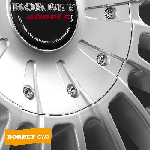 Borbet CW3 sterling silver