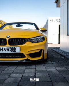 BMW M4 H&R adjustable lowering springs