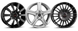BORBET wheels C2C, CWD, CW3