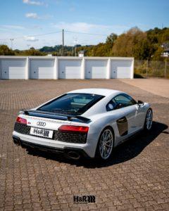 adjustable lowering springs Audi R8 V10