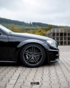 Mercedes C63 H&R Lowering front axle
