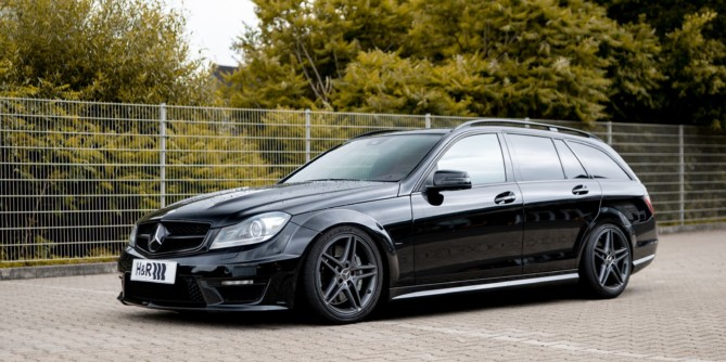 H&R Coilover for Mercedes C63