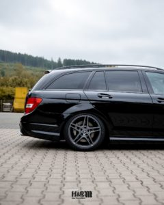Mercedes C63 H&R Lowering Rear Axle