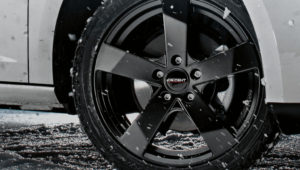 DEZENT wheel TD black