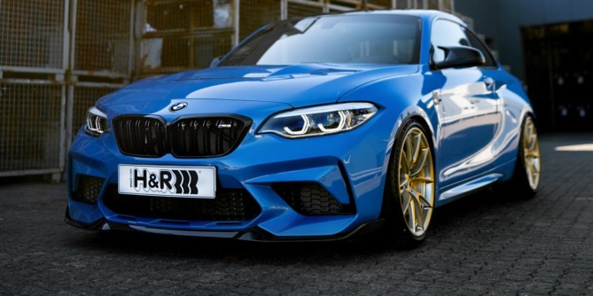 H&R products for BMW M2